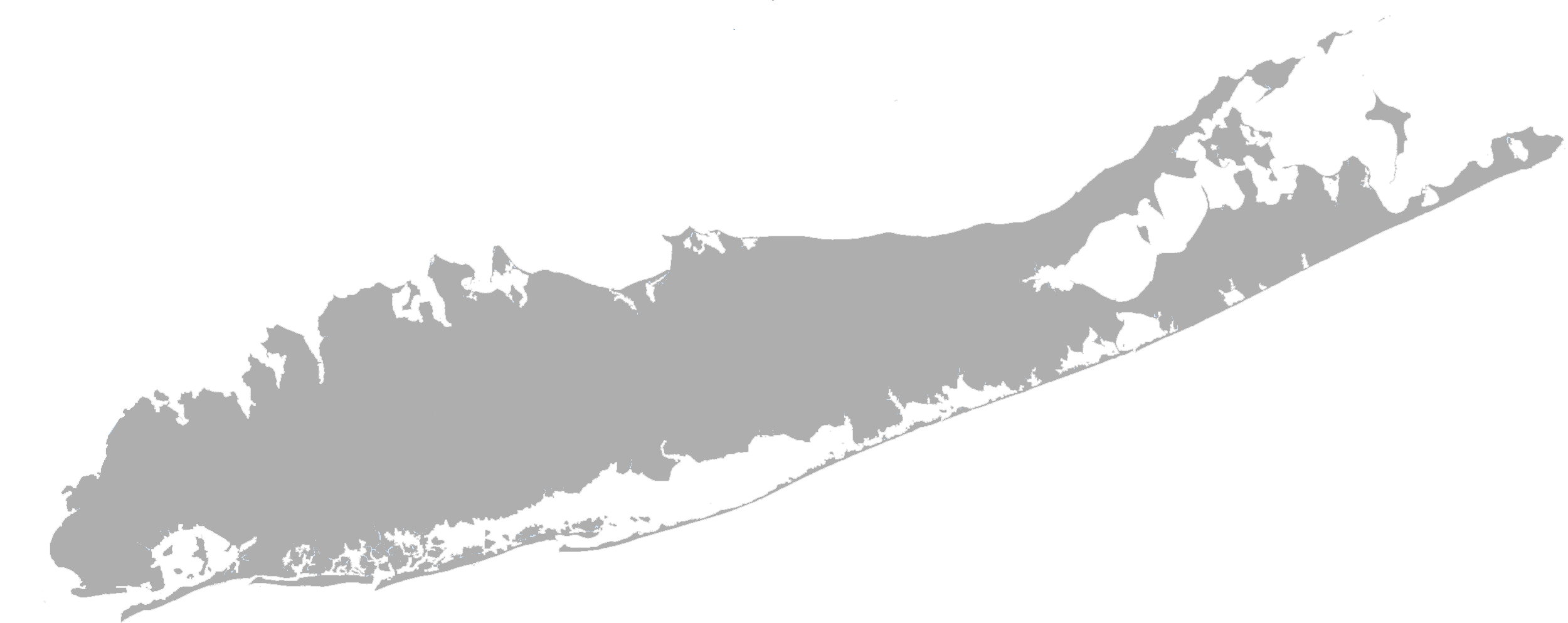 Long Island, New York, Nassau County, Suffolk County